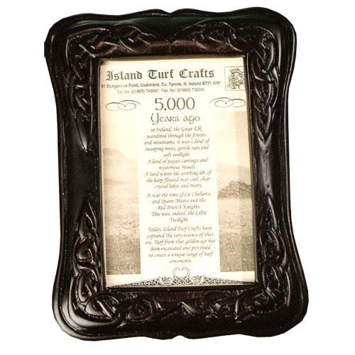 Turf Celtic Picture Frame 8x6 Inch Island Turf Crafts
