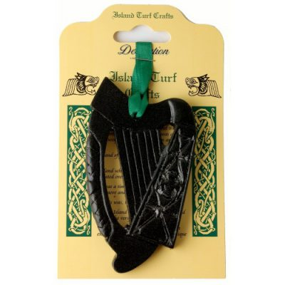 Irish harp wall hanging