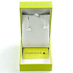 shamrock earings