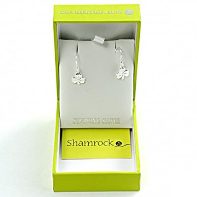 shamrock earings