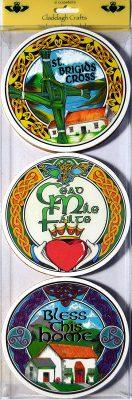 AB&CRange Irish Coasters