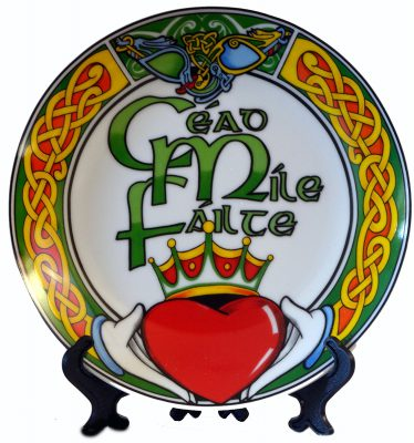 Cead Mile Failte Decorative Plate 10cm